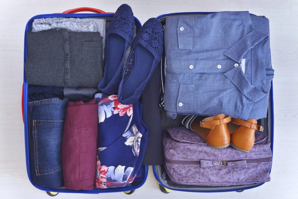 Come fare la valigia se parti in treno