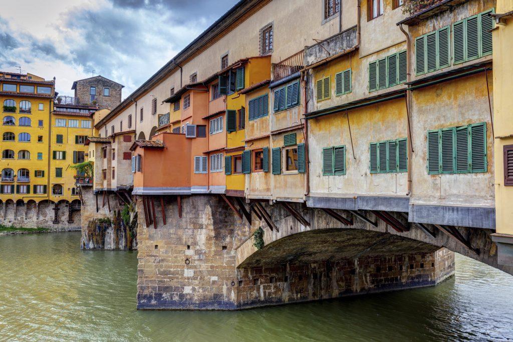 Itinerario per visitare Firenze in 3 giorni Lungarno e Ponte Vecchio