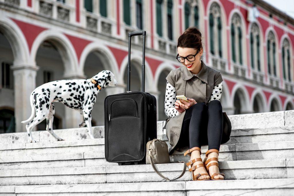 Viaggio in treno col cane