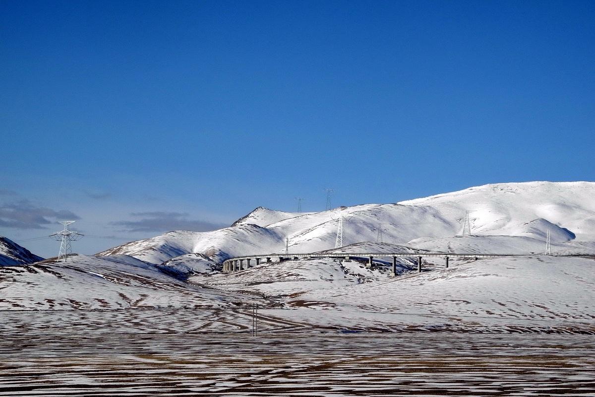 Tratte ferroviarie da record - Ferrovia Quingzang Tibet© Michel Royon Wikimedia Commons