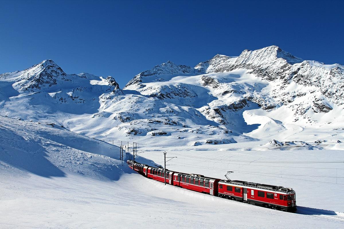 Tratte ferroviarie da record Trenino del Bernina