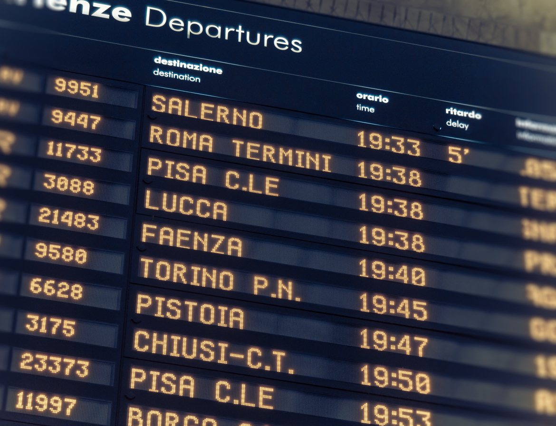 viaggiare in treno per lavoro orari di partenza