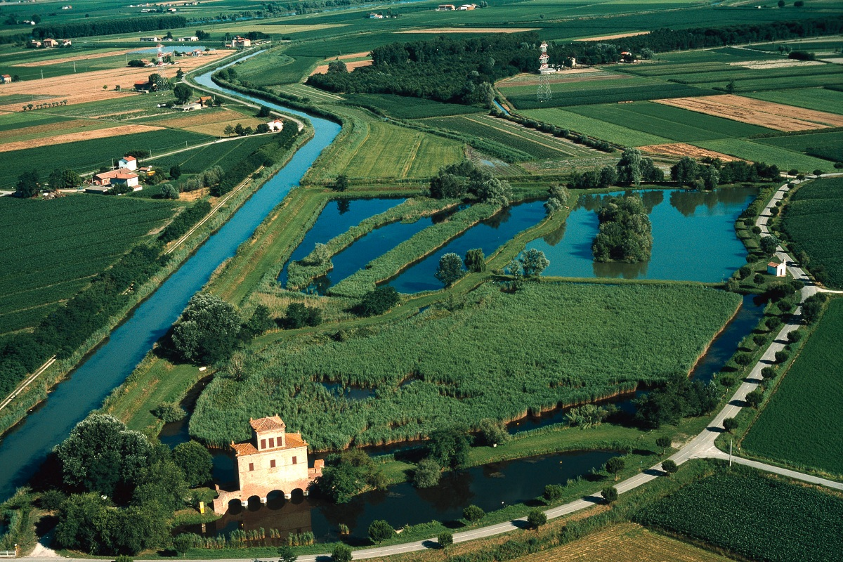 Parco del Delta del Po Ferrara patrimonio unesco