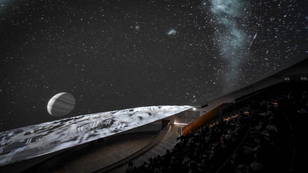 città della scienza napoli planetario 3d