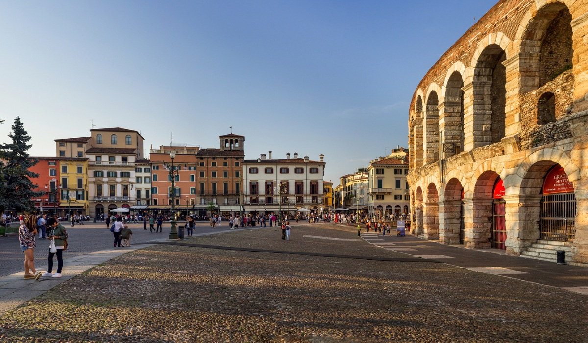 Patrimonio unesco italia verona arena