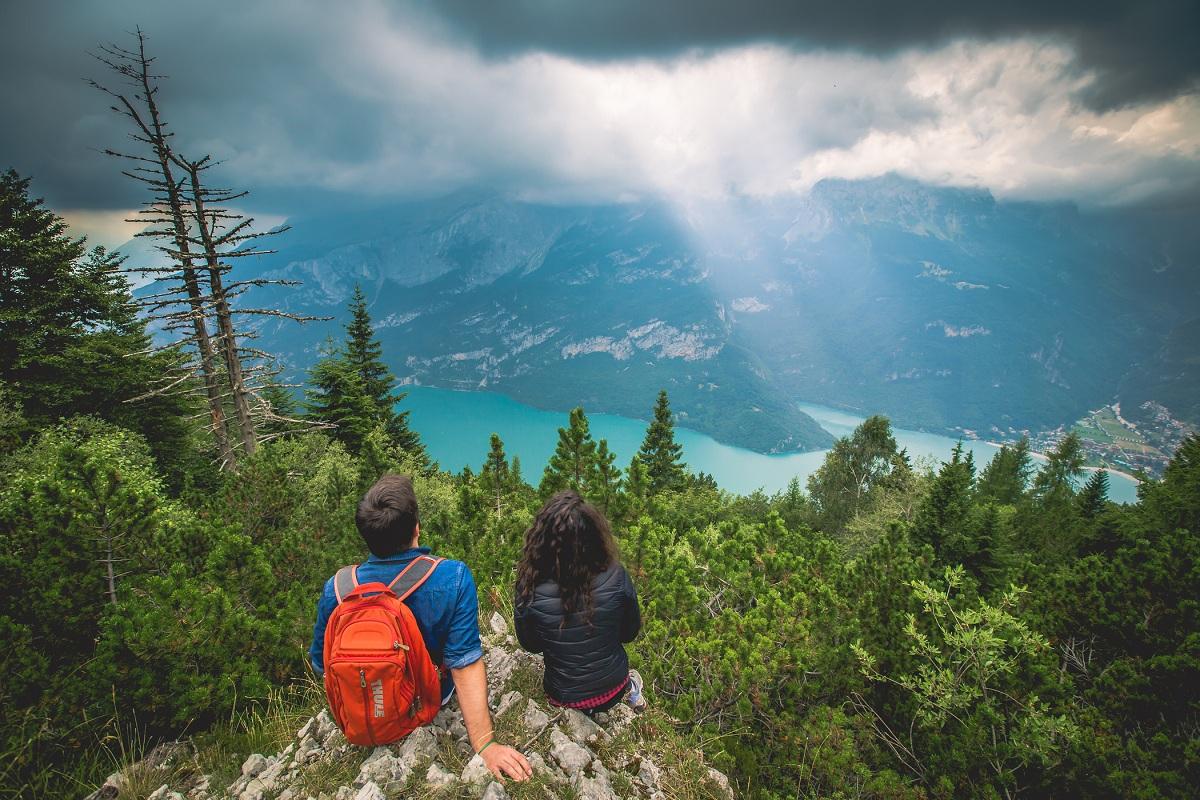 Escursioni estive in montagna, trekking vicino Trento Dolomiti Paganella