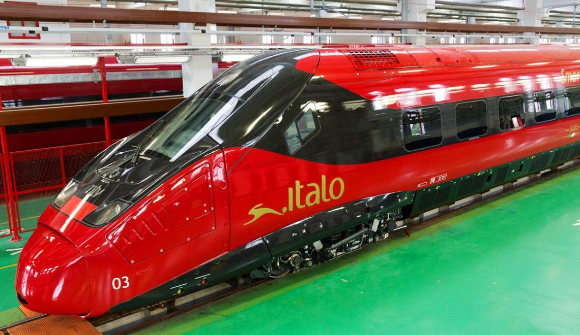 I nuovi treni Italo EVO protagonisti a Expoferroviaria 2017
