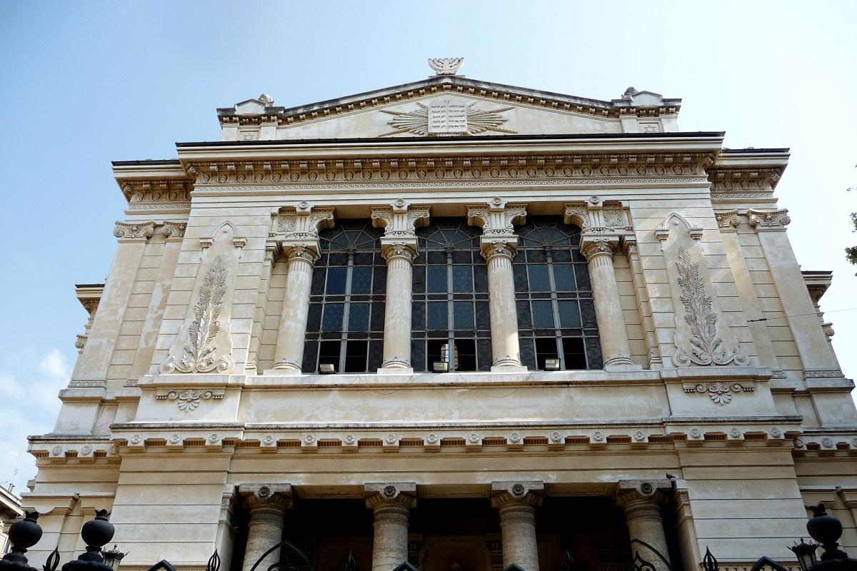 roma alternativa itinerari sinagoga