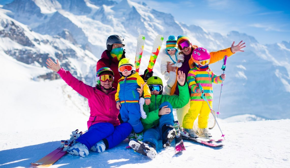 settimana bianca sulle alpi canazei cortina courmayeur bambini