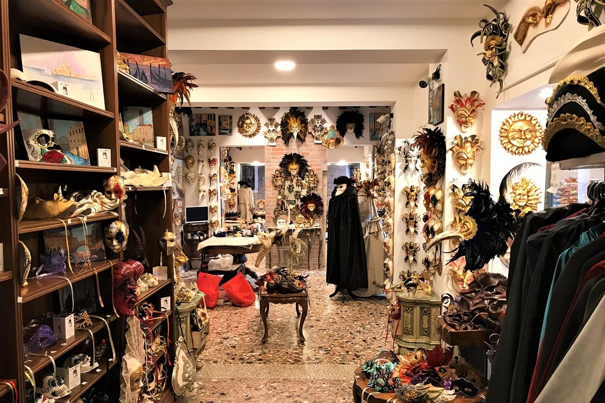 migliori negozi di maschere artigianali venezia carnevale la bauta