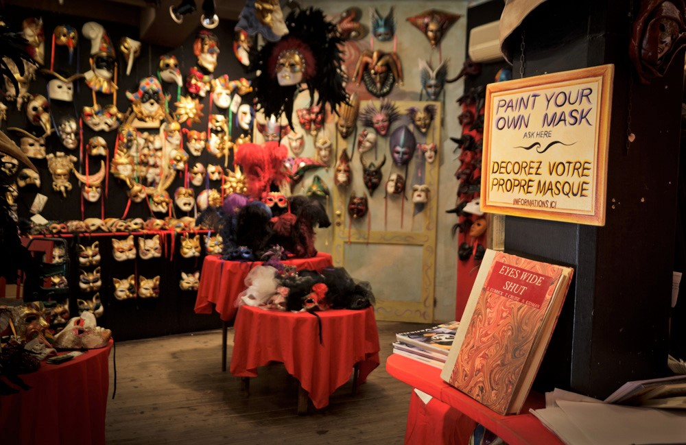 migliori negozi maschere carnevale venezia ca macana