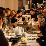 ristorante giapponese con i colleghi a milano