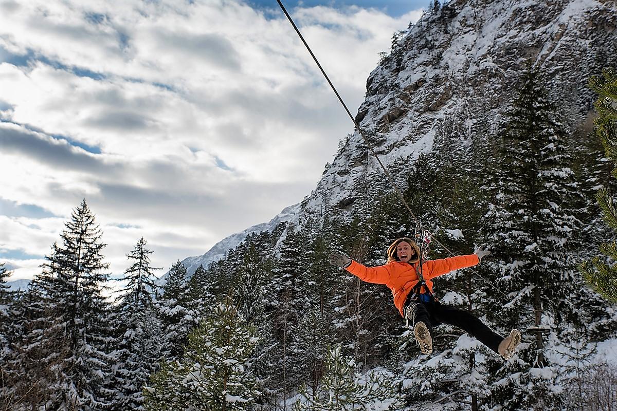 cose da fare a courmayeur a pasqua parco avventura mont blanc