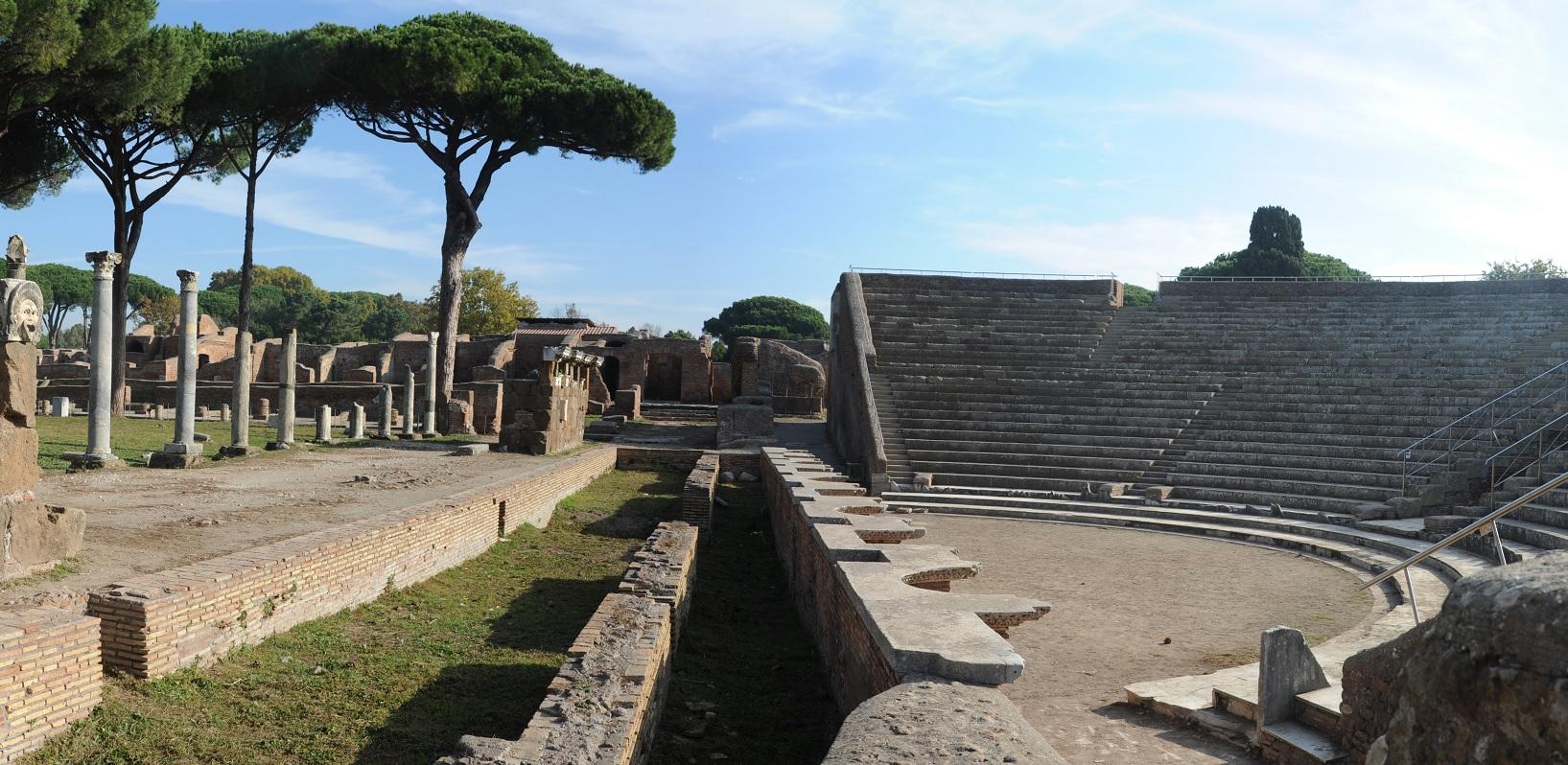 itinerario roma 3 giorni archeologia ostia antica