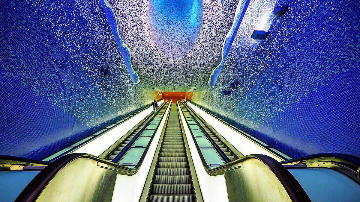 metropolitana di napoli stazioni dell'arte toledo