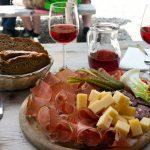 Mangiare a Trento speck mele vino trentino