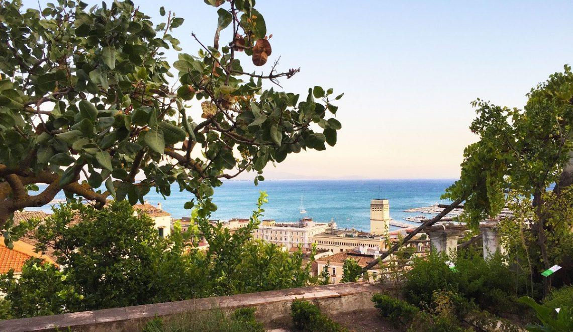 Giardino della Minerva: l'orto botanico di Salerno vicino al mare