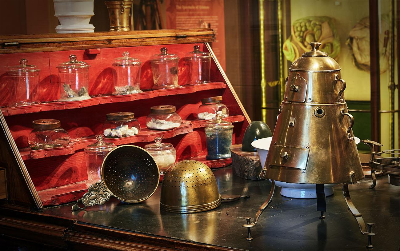 Museo Galileo Firenze - Banco chimico Pietro Leopoldo