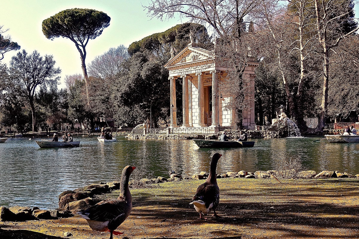 Visitare Roma Villa Borghese - credits renato ponzillo