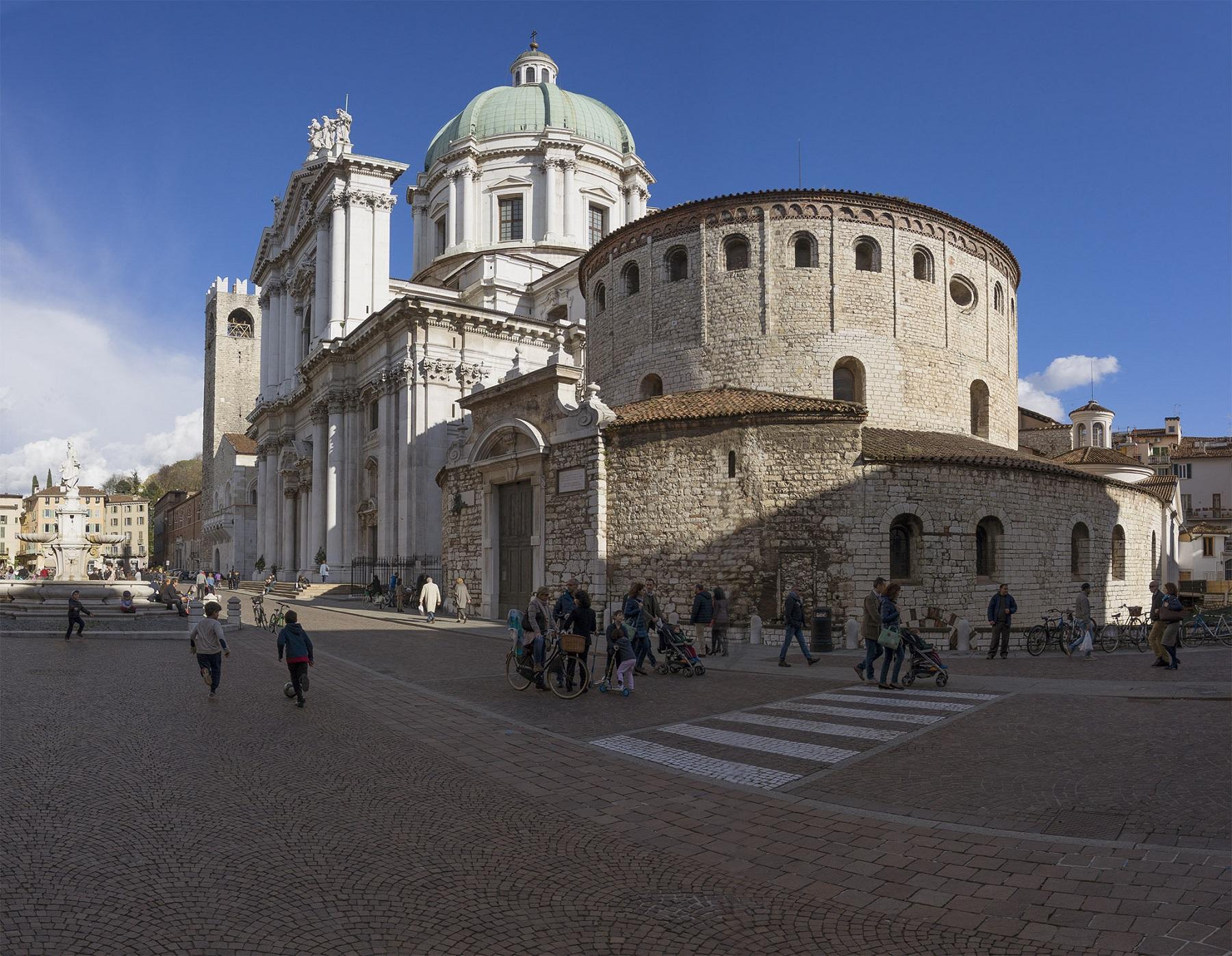 Cosa c'è da vedere a Brescia Duomo Vecchio e Duomo Nuovo