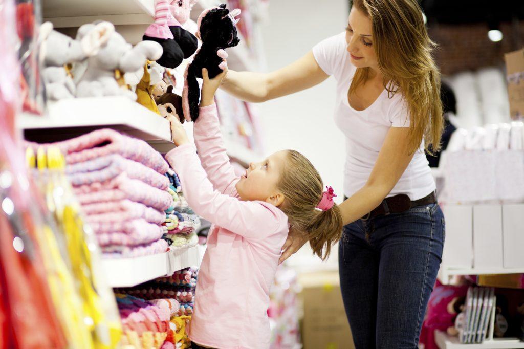 Shopping alla Stazione Termini negozi giocattoli