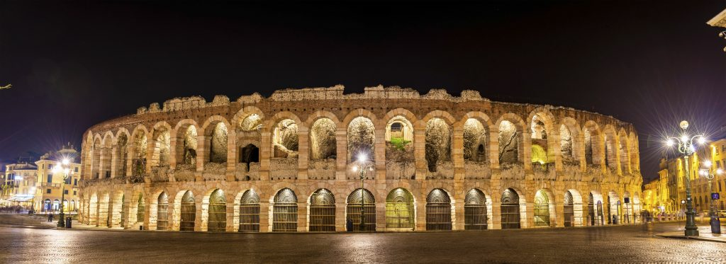 Weekend romantico a Verona Spettacolo all'Arena