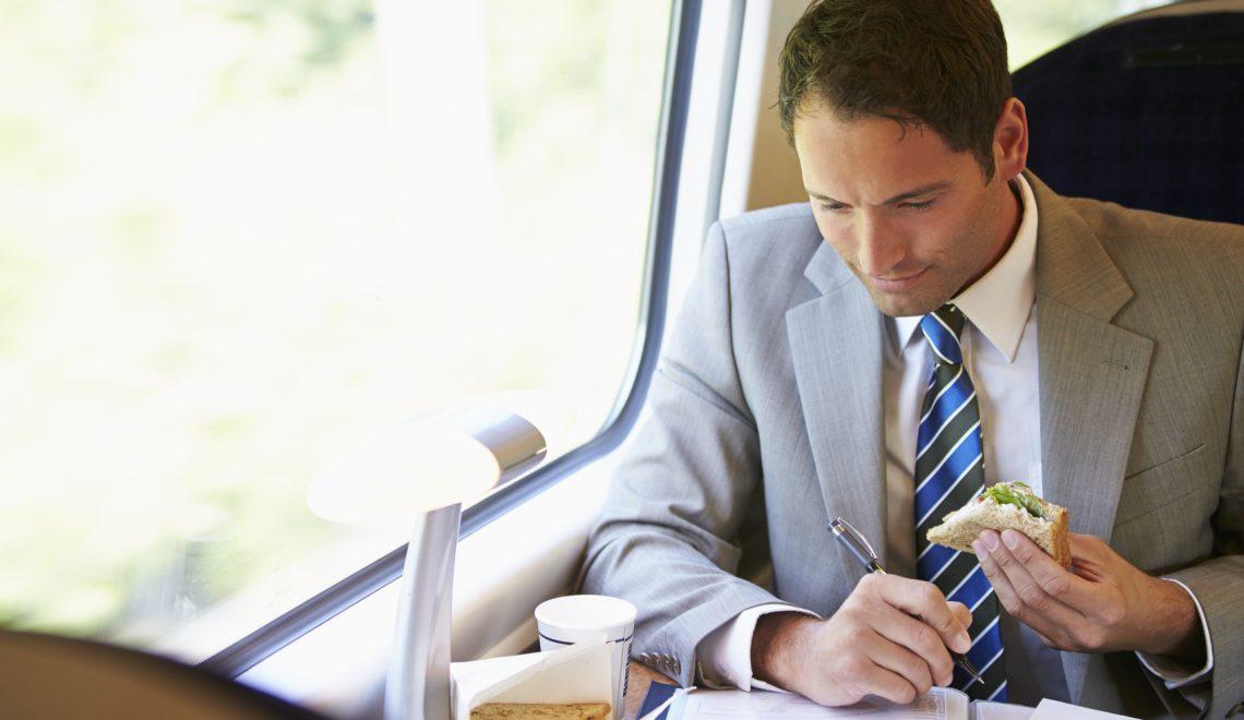Viaggio di lavoro? Ecco come concentrarsi in treno per arrivare preparati