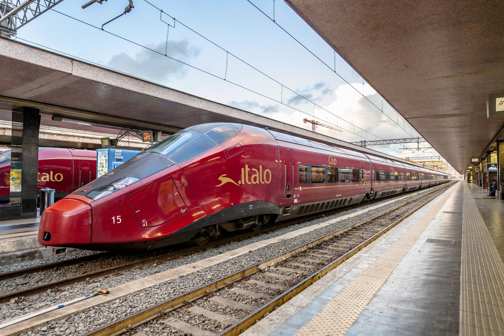 Quanto consuma un treno ad alta velocit italoblog - Pullman torino porta nuova caselle orari ...