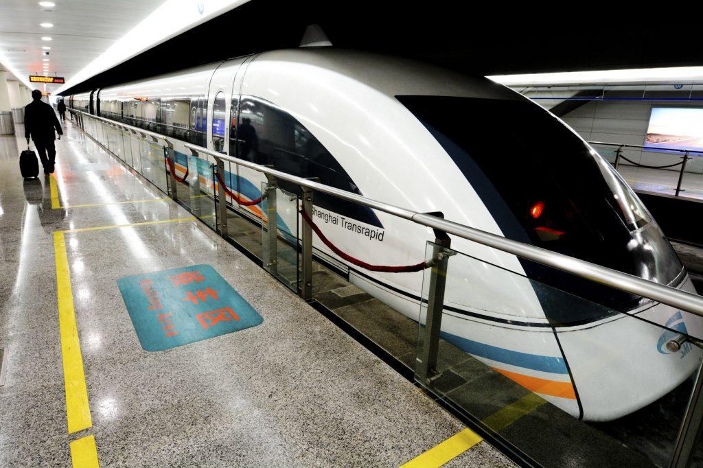 treni alta velocità più usati al mondo Shanghai Transrapid
