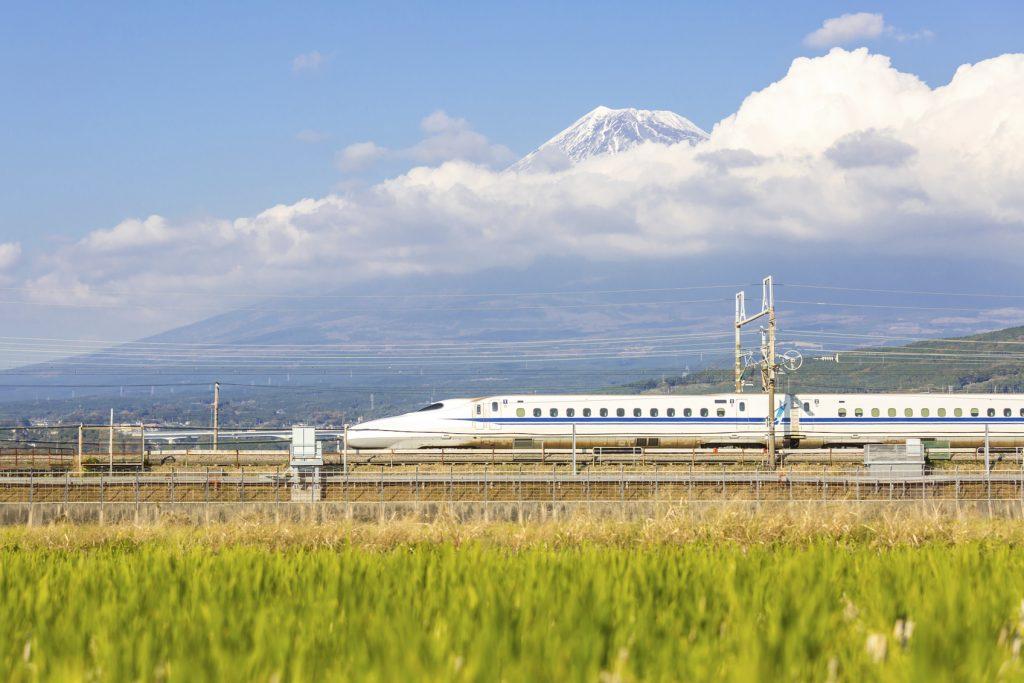 Treni alta velocità più usati al mondo Shinkansen Giappone