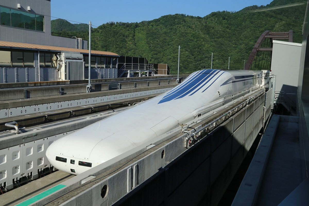 Tratte ferroviarie da record Shinkansen L0 Maglev © MDGovpics Wikimedia Commons