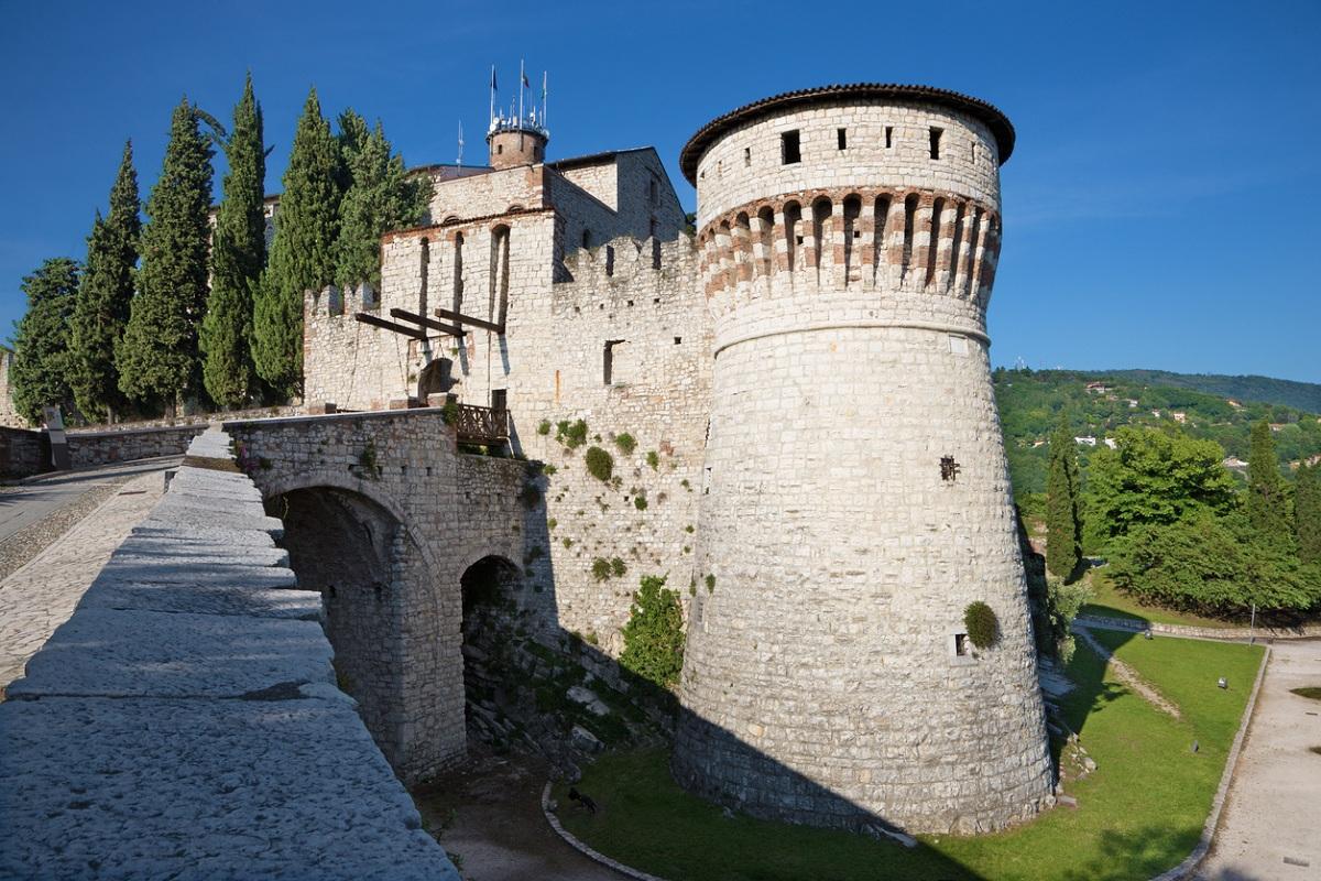 visitare brescia castello cidneo