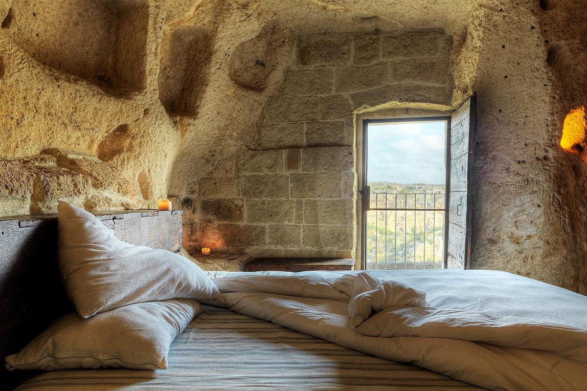 dove dormire sassi di matera sextantio