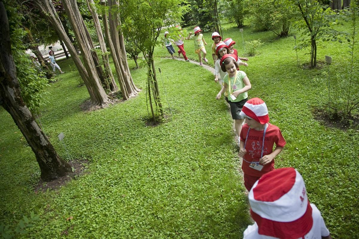 orto botanico di padova attività per bambini
