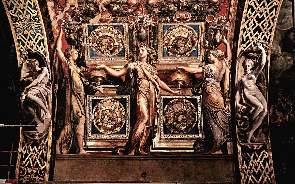 Parma in un giorno chiesa della steccata affreschi parmigianino