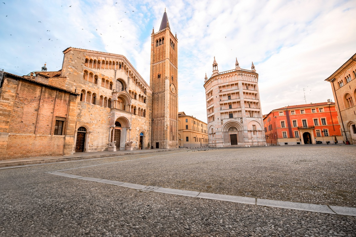 Parma in un giorno duomo e battistero