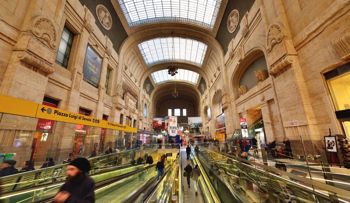 I negozi di Milano Centrale