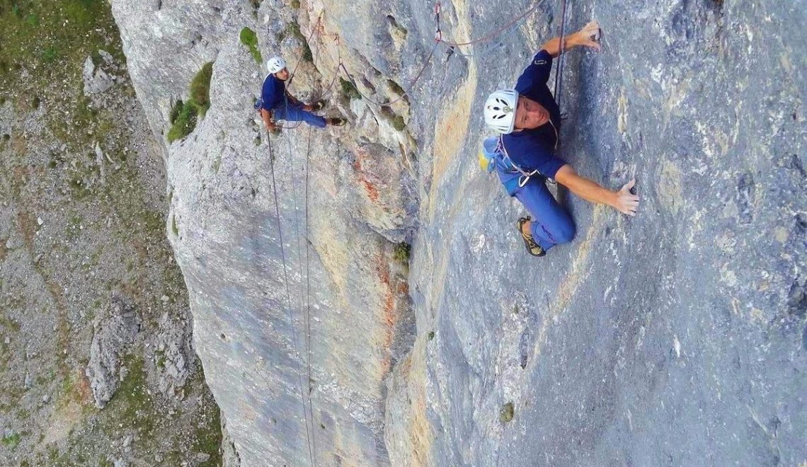 vie ferrate e climbing in trentino rovereto vallagarina