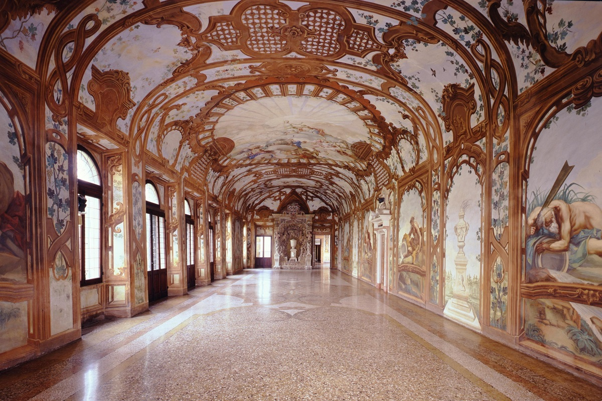 palazzo ducale mantova sala dei fiumi