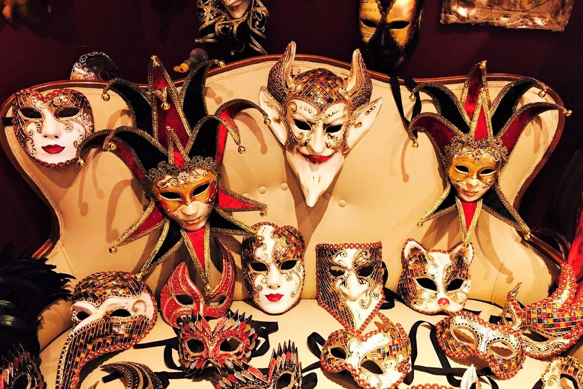 migliori negozi maschere carnevale venezia atelier marega