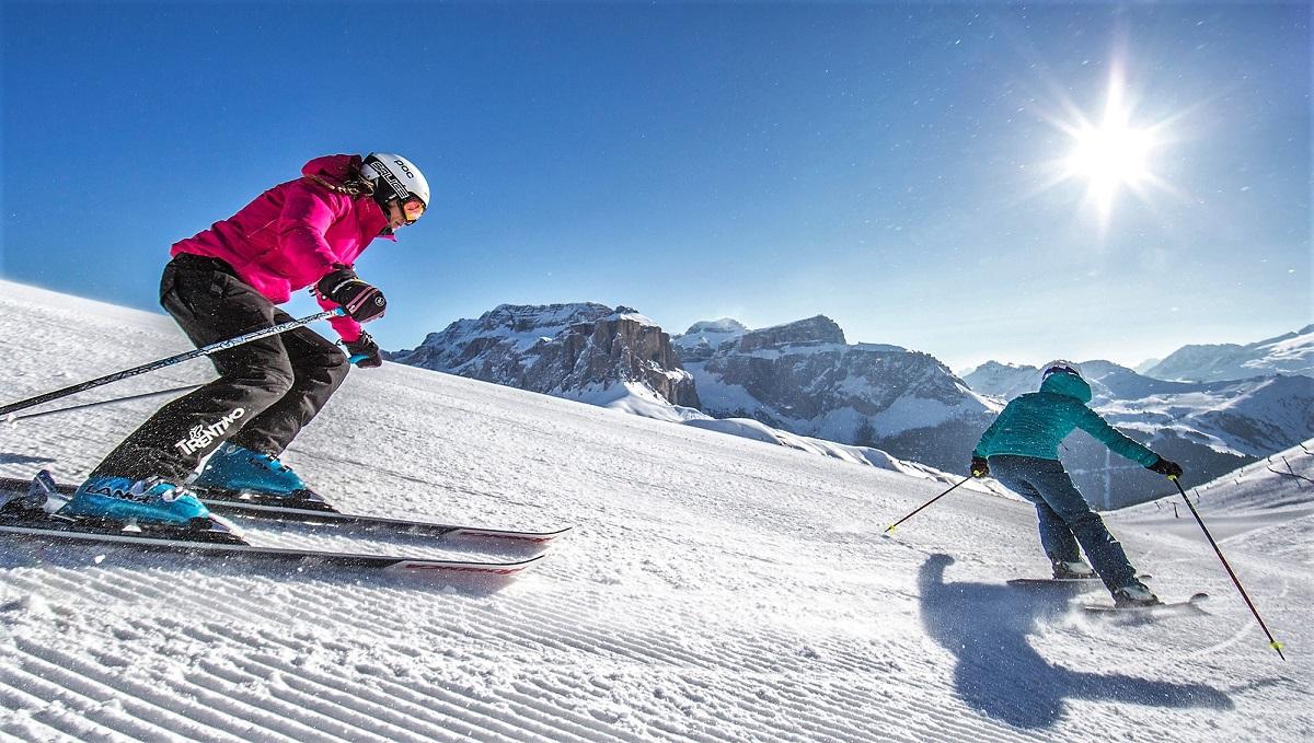 vacanza in val di fassa dolomiti sport sci impianti risalita