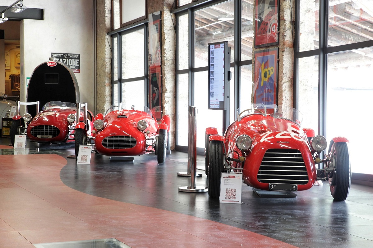 brescia museo mille miglia