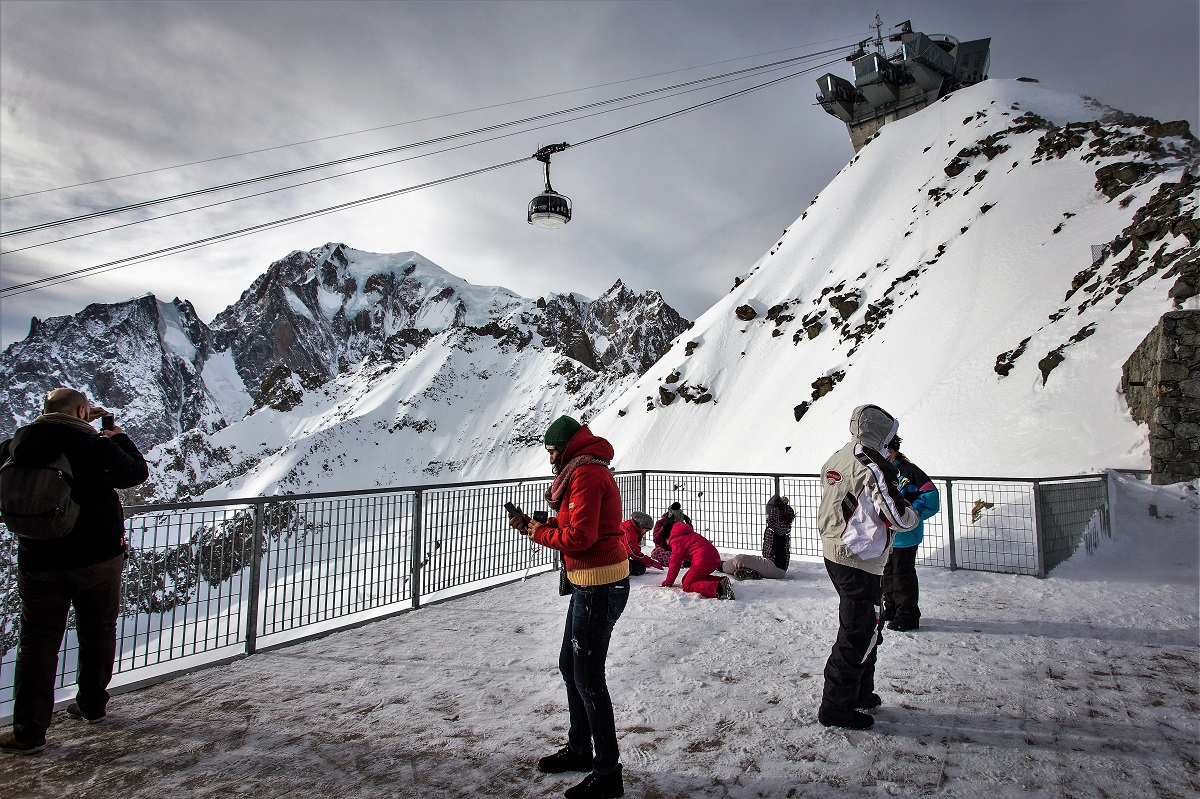 courmayeur villaggio dei pupazzi di neve