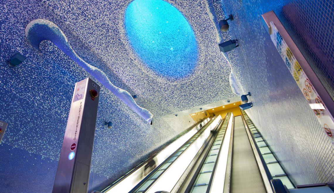 La metropolitana di Napoli e le sue sorprendenti Stazioni dell'Arte