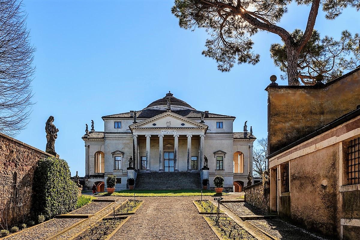 ville palladiane vicenza villa capra la rotonda