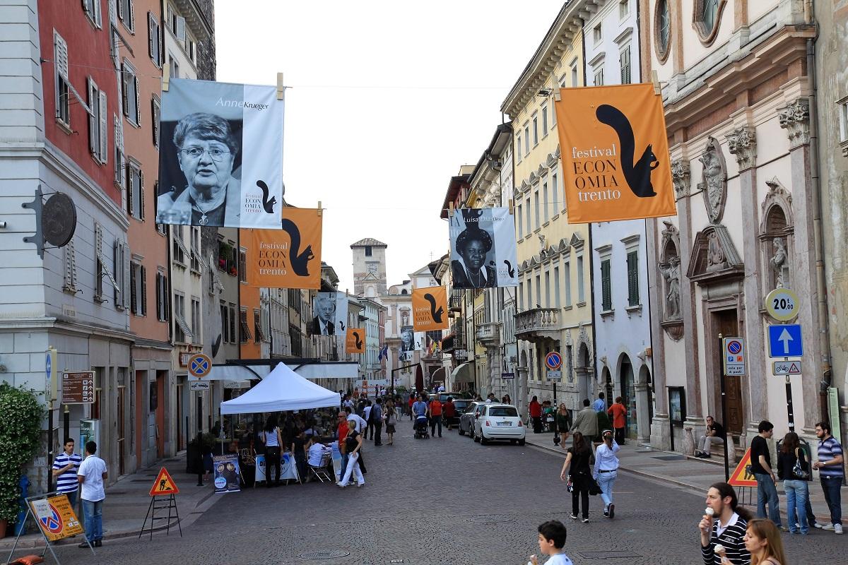 Festival dell'economia a Trento