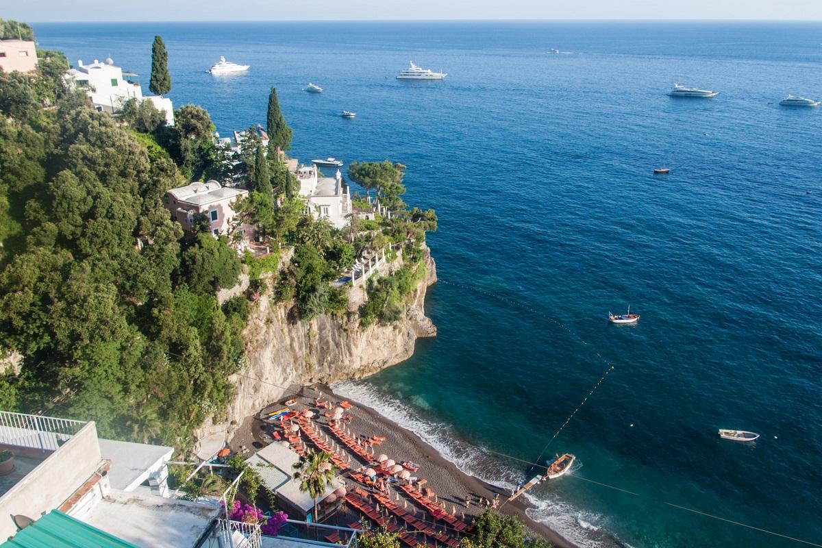 Positano mare spiagge da sogno in Costiera Amalfitana - Bagni d'Arienzo