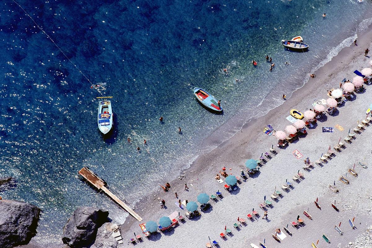Positano mare spiagge da sogno in Costiera Amalfitana - spiaggia