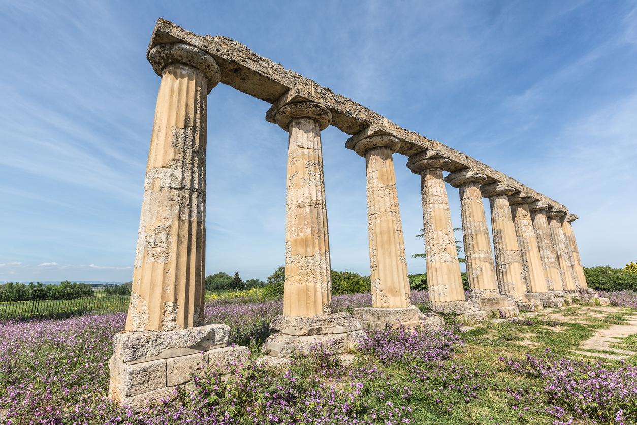 Sai perché il lido di Metaponto è la spiaggia più amata a Matera? - scavi archeologici