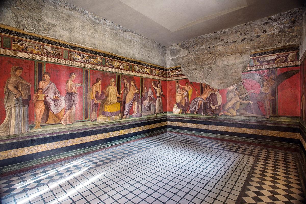 Cosa vedere a Pompei i 5 scavi archeologici da non perdere - Triclinio Villa dei Misteri